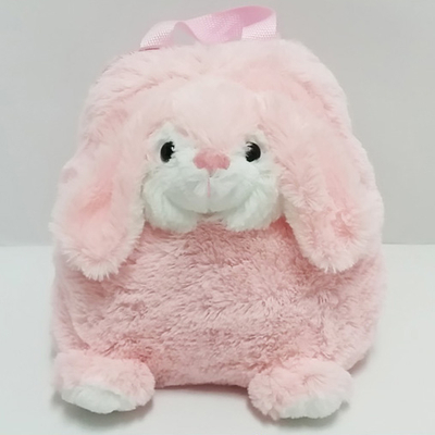 Plush Soft Cartoon Rabbit Toy Backpack for Kids