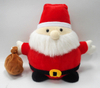 Soft Santa Claus Characters for Christmas Plush Toys with Purse