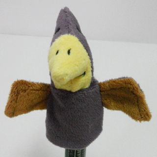 Plush Stuffed Toy Pterodactylus Finger Puppet for Kids