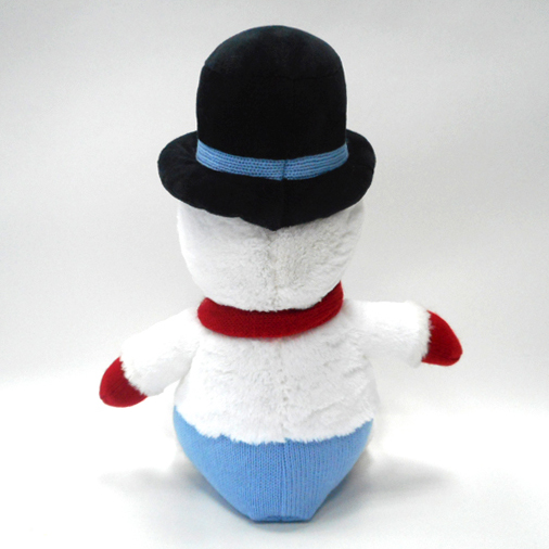 Christmas Soft Stuffed Toy Plush Snowman Toy with Hat