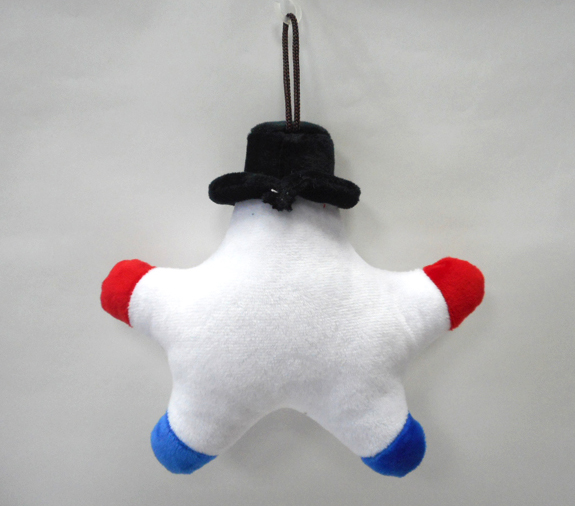 Christmas Decoration Snowman Star Stuffed Plush Toys