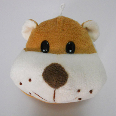 Cute Soft Plush Dog Shaped Coin Purse for Kids
