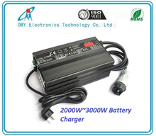 24V80A 48V50A 3000W smart battery Charger electric Vehicle , electric sweeper, tour bus/sightseeing bus battery charger