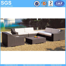 Rattan Furniture Combination Sofa Set with Coffee Table