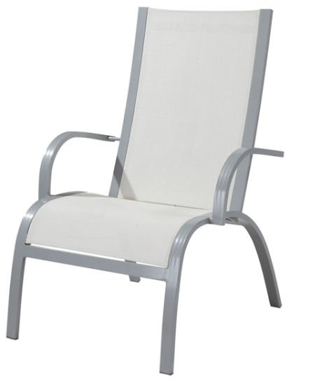 Outdoor Textilene Lounge Chair for Garden (LN-1150)