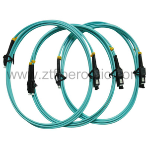 Om3 Duplex LC Optical Fiber Patch Cord