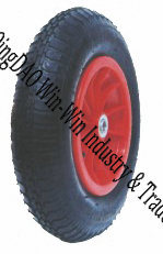 "Pneumatic Rubber Wheel Used on Wheel Barrow (14""X3.50-8)"