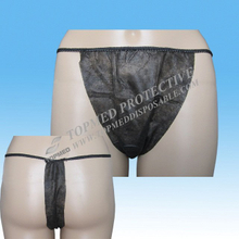 Non woven Disposable panties spa tanga underwear for women