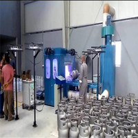 High Quality LPG Cylinder Zinc Metalizing Machine