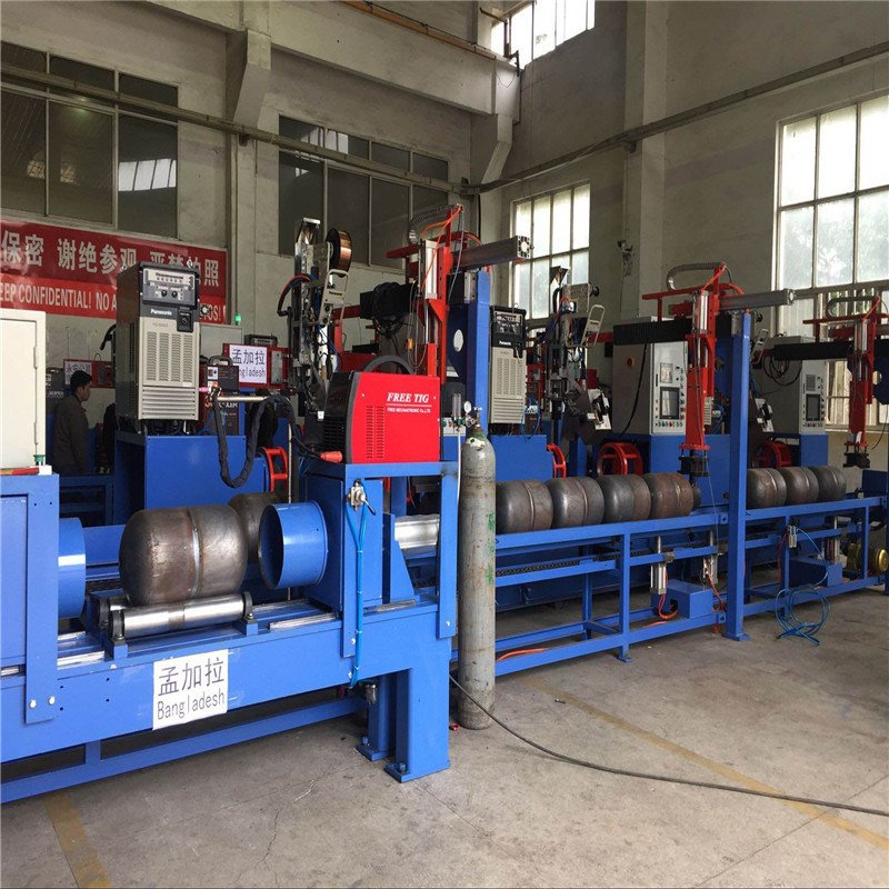 Full Automatic LPG Gas Cylinder Welding Line