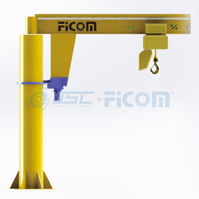 Column Type JIB Crane Model: HJB (Capacity: up to 5 ton)