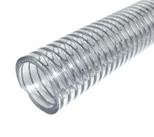 PVC Spring Spiral Helix Steel Wire Reinforced Suction Discharge Hose
