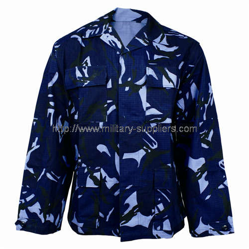 NAVY BLUE CAMOUFLAGE UNIFORM 1309