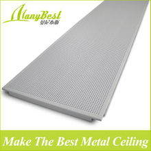 600*1200 Manybest Clip in Aluminum Decorative Ceiling Tiles