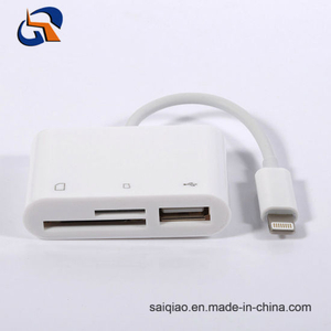 Lightning to SD/TF Card Camera Reader