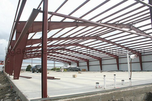 High-End Heavy Structure Space Frame/ Steel Structure Warehouse for Benin