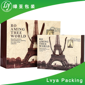 Cheapest Webbing Rope Handle Paper Bag Price Of China Exporter