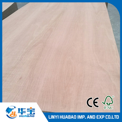 Okoume Plywood 16.5*1220*2440mm E1 Glue