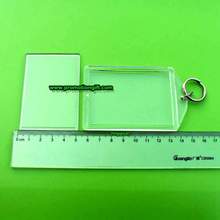 Acrylic key chain-73*51mm