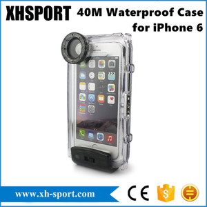 100% Waterproof Specifically Designed with Compass Case for Smart Phone iPhone 6