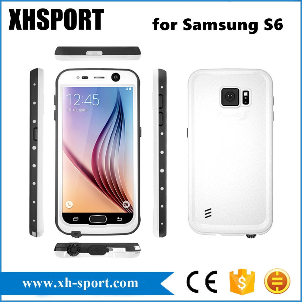 High Quality Top Waterproof Cell Phone Case for Samsung S6