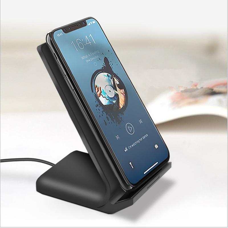 Fast Wireless Charger for Smart Phone ,Qi Fast Charge Wireless Charger Stand For Samsung