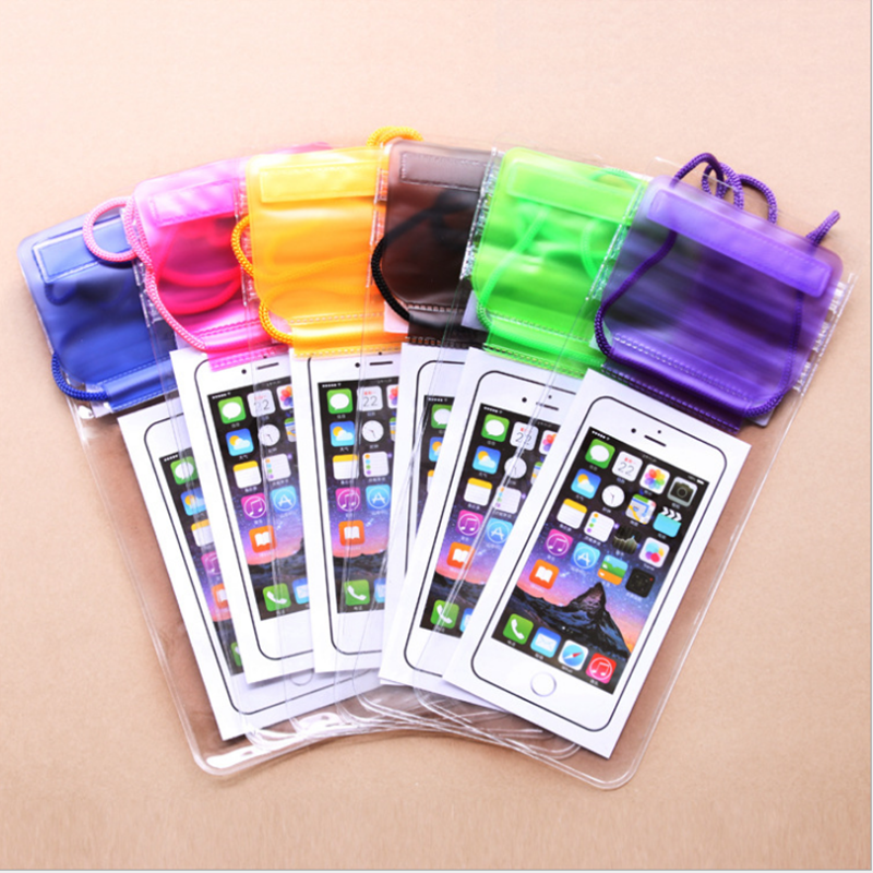 Universal Transparent Waterproof Phone Bag for Outdoor Activitie Swimming/ Surfing /Fishing