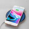 QI Wireless Charger Waterproof Wireless Fast Charger with LED Ligth for IPhone Desktop Wireless Charger with Stretch Cable for Samsung