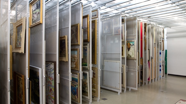 Charmant Artwork Storage Rack