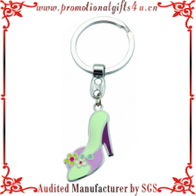 Colored Metal highheeled shoes Keychain