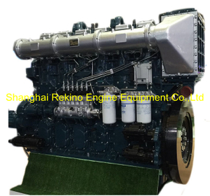 1035HP 1000RPM Yuchai marine propulsion boat diesel main engine (YC6CL1035L-C20)