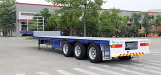 Tri-Axles Dropdeck Semi-Trailer