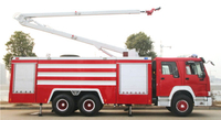 Sinotruk HOWO 18 meter water tower Fire Truck