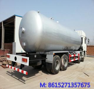 SHACMAN 336HP 8X4 LPG TANKER TRUCK