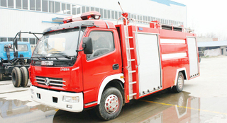 EQ 4x2 4T water foam tanker fire truck