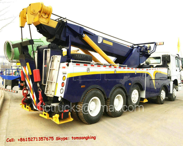 Sino ZZ5507N31B7D1 heavy duty rotator road wrecker 5 axles 10X4