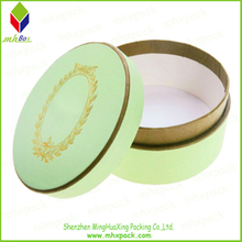 Gold Stamping Round packaging Soap Box
