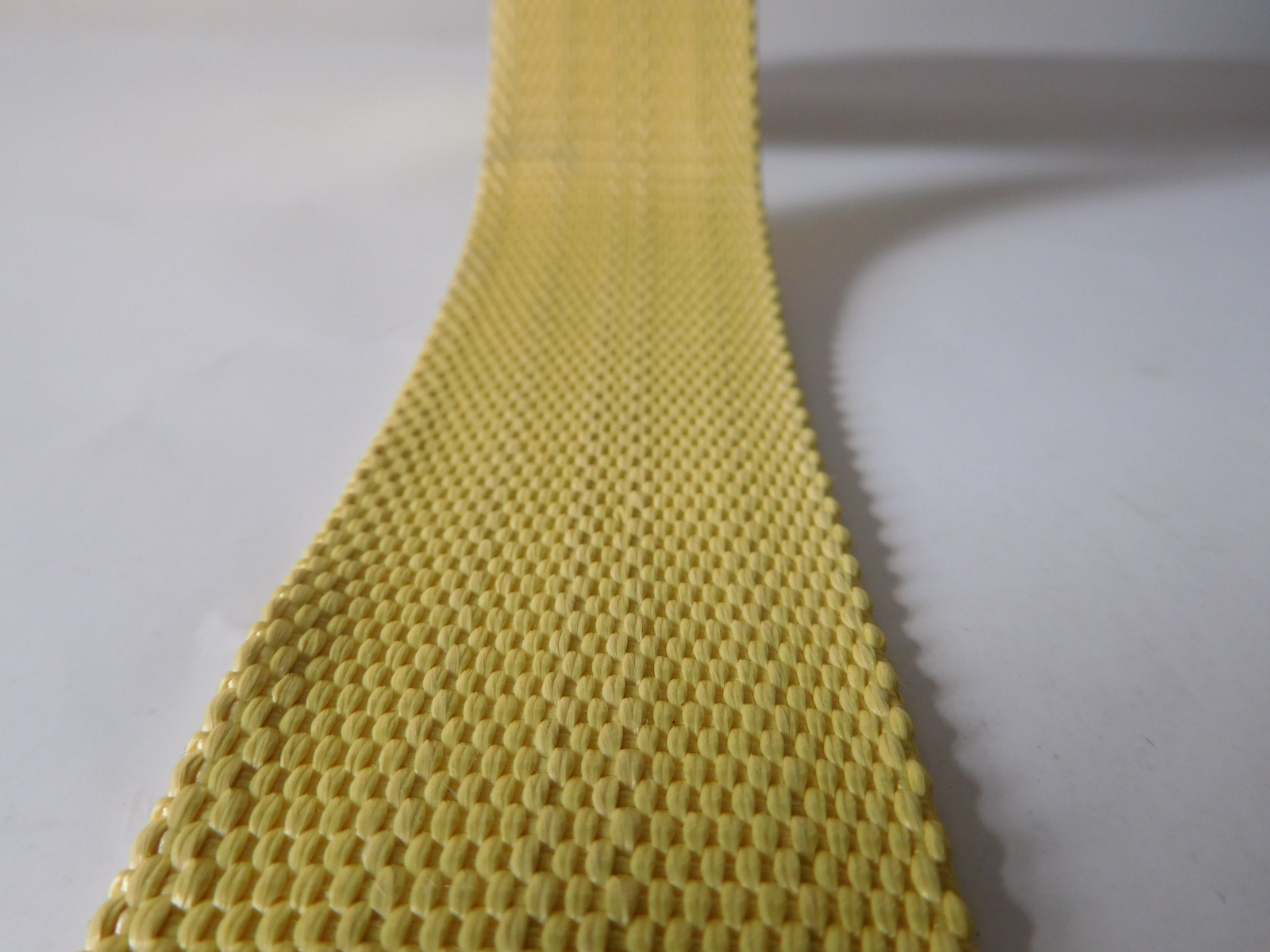 High strong pulling force aramid webbing for industry