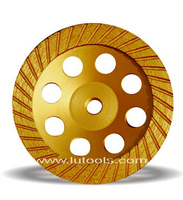 Continuous Turbo Diamond Cup Grinding Wheel (DG-004)