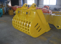 Hyundai R360 Rock grating bucket