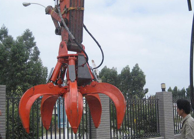 Doosan DX225 Excavator Scrap grab