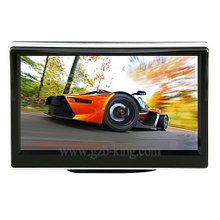 Stand-up type 7 inch TFT LCD rear view monitor