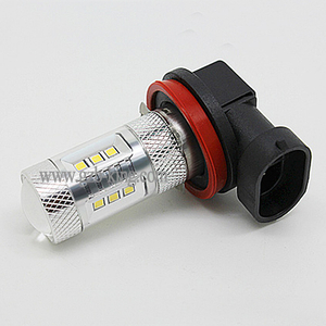 Best selling 7G 12-24V DC H9 22Watts 620lm SMD+Cree Chip LED fog light