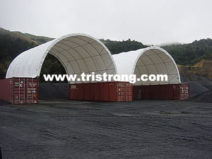 Container Shelter, Container Roof, Container Tent (TSU-3340C)
