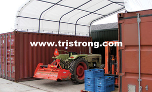 Prefabricated Building, Container Cover, Container Tent, Container Shelter (TSU-2020C/2040C)