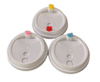 90MM Disposable Plastic Coffee Lids