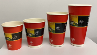 14OZ/ 16OZ/ 20OZ/ 24OZ Disposable Biodegradable PLA Double Wall Paper Cup