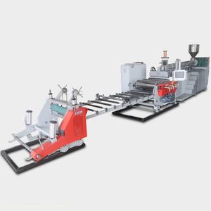 MX-1000L Single Layer Plastic Casting Sheet Extrusion Machine