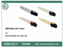 High Quality Good Compatiblity Ricoh MPC306 MPC307 Color Toner Cartridge