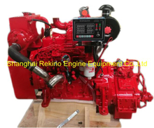 Cummins 4BT3.9-M rebuilt reconstructed marine diesel engine with gearbox (100-110HP 2800RPM)